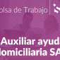 Oferta Auxiliar Ayuda Domiciliaria SAD