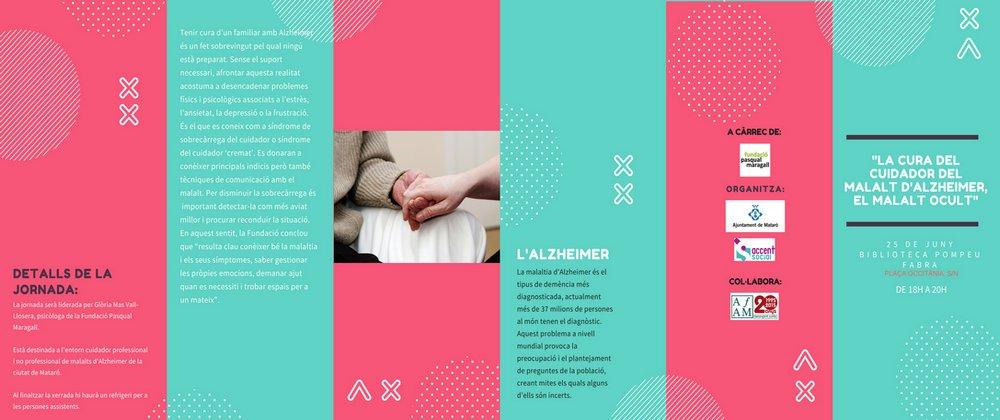 La cura del cuidador de malalts Alzheimer