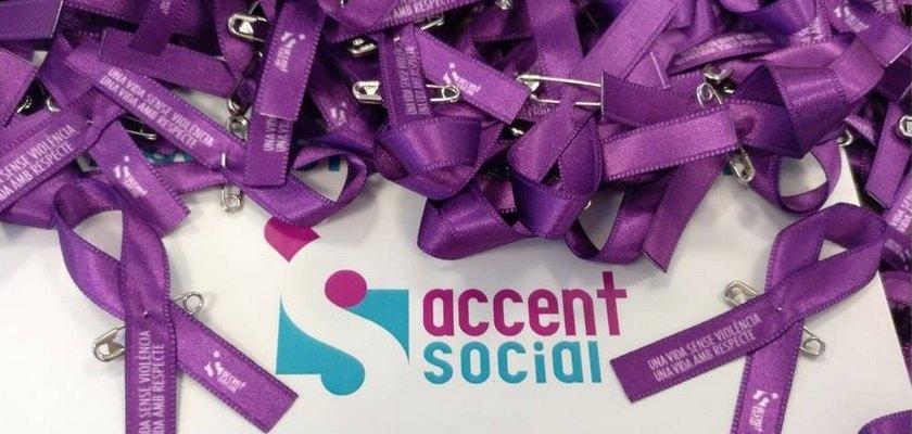 Dia contra la violència masclista a Accent Social