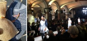 Defilada moda Fundació Ared a 080 Barcelona Fashion