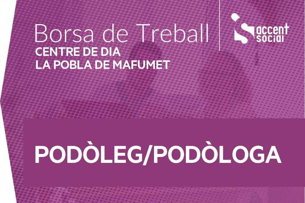 Oferta Borsa Treball La Pobla Mafumet