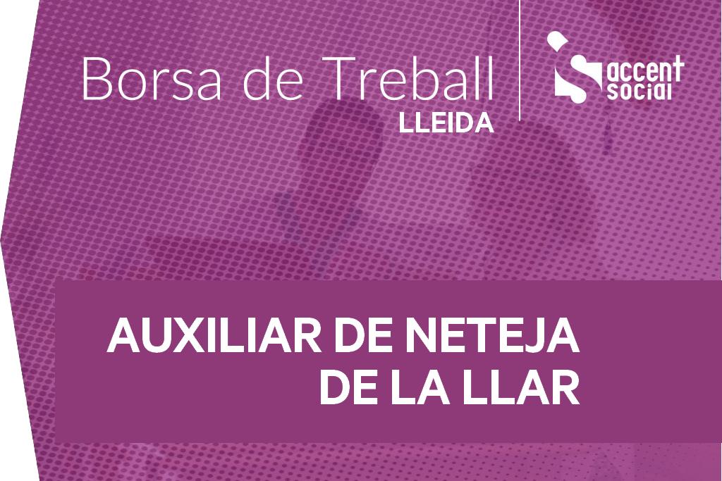 Oferta borsa treball Lleida