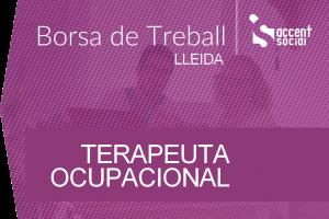 Oferta Borsa Terapeuta Ocupacional