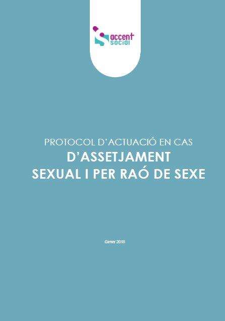 Protocolo de actuación frente a casos de acoso sexual