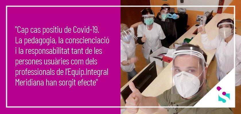 Equipament Integral Meridiana, bona gestió sanitària