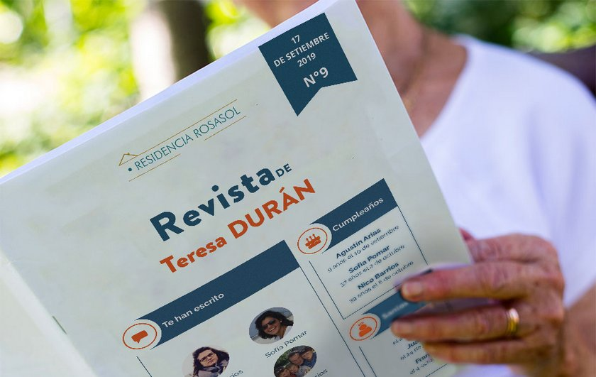 Revista Famileo per comunicació en família i amb gent gran