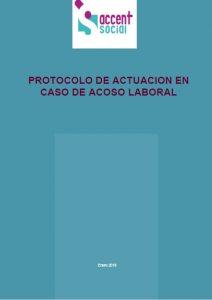 Protocol actuació assetjament laboral