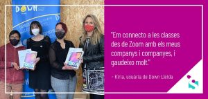 Connectar a la tecnologia per desconnectar de la pandèmia - Associació Síndrome Down Lleida