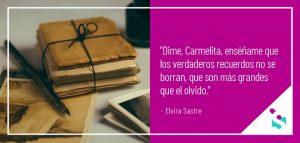 Dime Carmelita, poema sobre el Alzheimer
