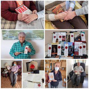Diada Sant Jordi i llibres solidaris als usuaris del SAD