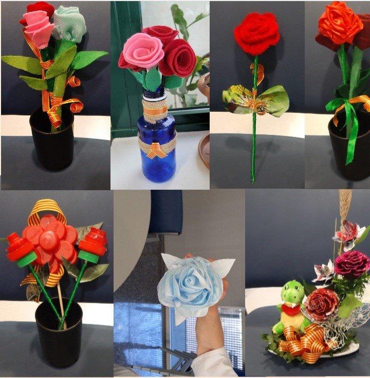 Taller de roses fetes a mà Equipament Integral Meridiana